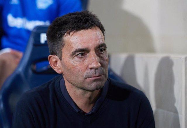El entrenador del Deportivo Alavés, Asier Garitano