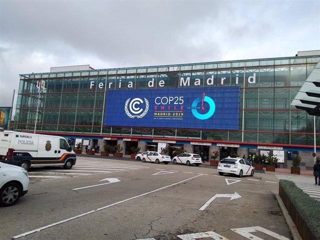 Sede en IFEMA (Madrid) de la Cumbre del Clima COP25