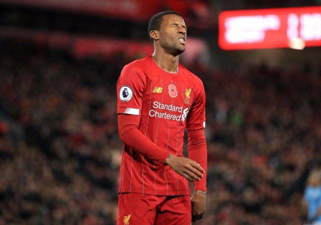 El jugador del Liverpool Fabinho