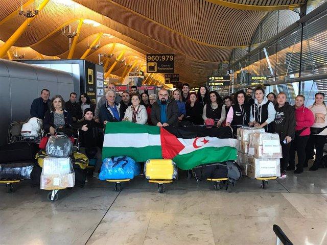 Un total de 40 andaluces viajan a los campamenos saharauis