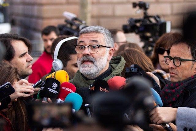 El diputado de la CUP en el Parlament, Carles Riera