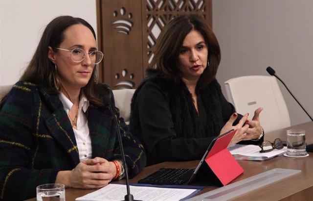 La diputada del Área de Patrimonio y Mercado Gastronómico de la Diputación de Badajoz, Dolores María Enrique Jiménez