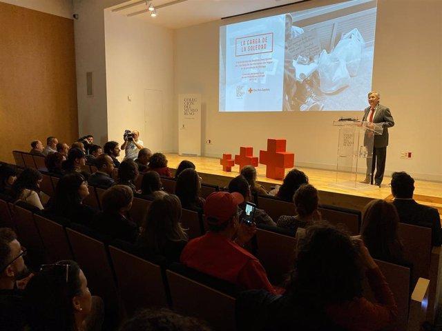 Presentación del informe sobre personas sin hogar en la provincia de Málaga.
