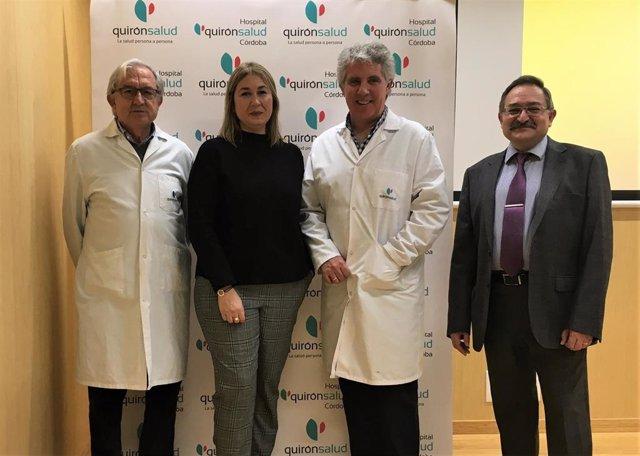 El experto en Derecho Sanitario, Javier Sanhonorato, en el Hospital Quirónsalud