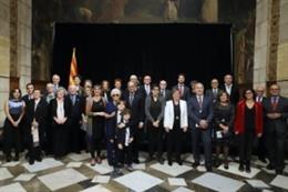 Quim Torra entrega las Medallas y Placas Josep Trueta