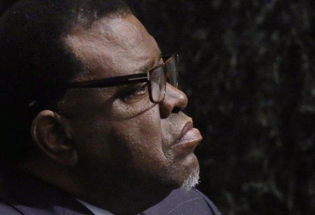 El presidente de Namibia, Hage Geingob.