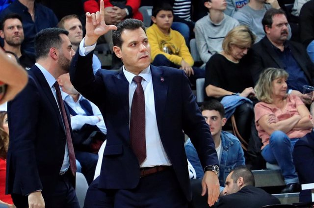 Dimitris Itoudis, entrenador del CSKA de Moscú.