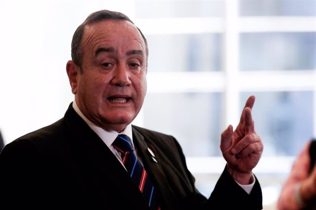 El presidente electo de Guatemala, Alejandro Giammattei.