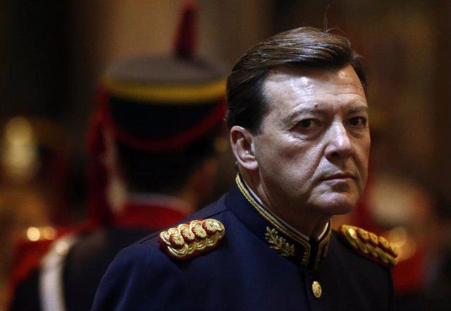 El exjefe del Ejército argentino, César Milani.