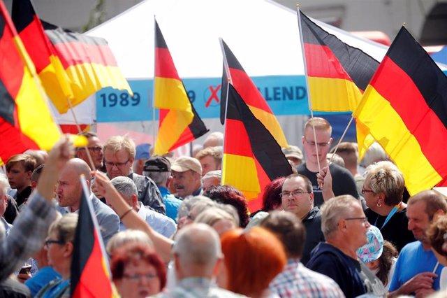 MIembros del partido de extrema derecha Alternativa por Alemania (Afd)