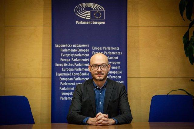 Sergi Barrera, jefe de la Oficina del Parlamento Europeo en Barcelona
