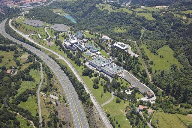 Estación de Tratamiento de Agua Potable de Venta Alta , en Arrigorriaga (Bizkaia)