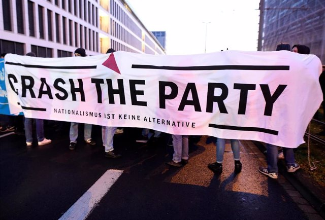 Protesta contra Alternativa para Alemania