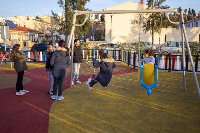 Culmina el acondicionamiento del espacio público Cardeñas para el disfrute de los vecinos.