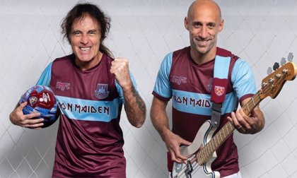 Iron Maiden y el West Ham United se unen en un 'crossover' sin precedentes