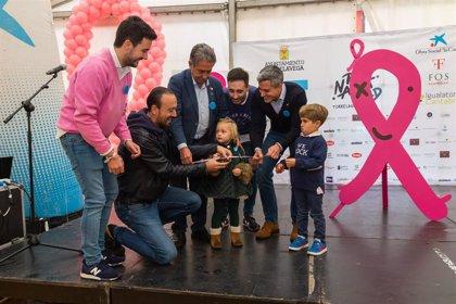 Cantabria muestra su apoyo a la investigación contra el cáncer en la IV Rosa Navidad