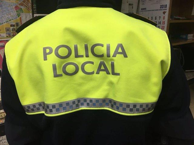 AGENTE DE POLICÍA LOCAL