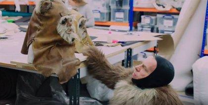 Primer vistazo a los Ewoks en Star Wars: El ascenso de Skywalker