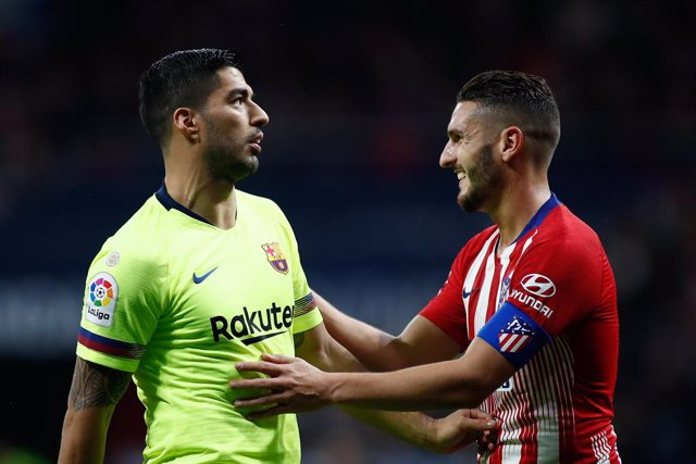 Fútbol/Primera.- Previa del Atlético de Madrid - Barcelona