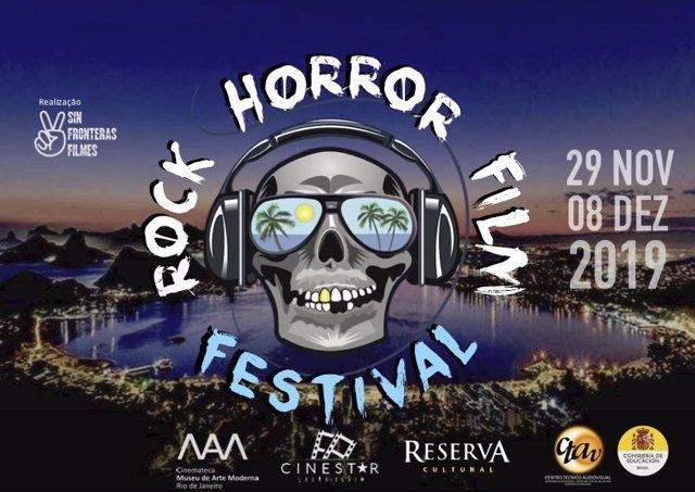 Cartel del Rock Horror in Rio Film Festival