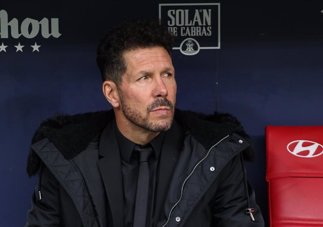 Diego Pablo Simeone, entrenador de l'Atlètic de Madrid.