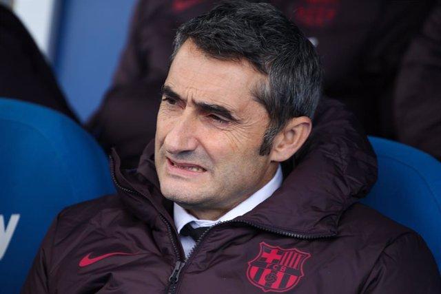 """Fútbol.- Valverde, sobre los pitos a Griezmann: """"A nosotros no nos tiene que inf"""