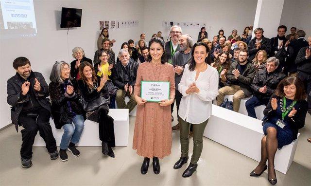 La artista chilena Tamara Jacquin recibe el Premio Sculpture Network en SCULTO