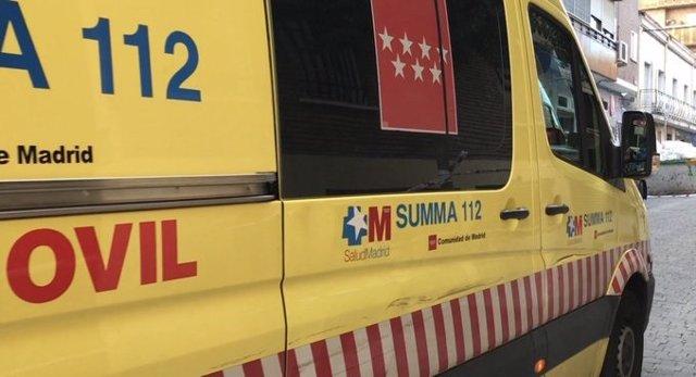 Imatge de recurs d'un ambulància del SUMMA 112.