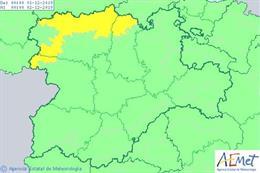 Avisos de la AEMET para este domingo en Castilla y León