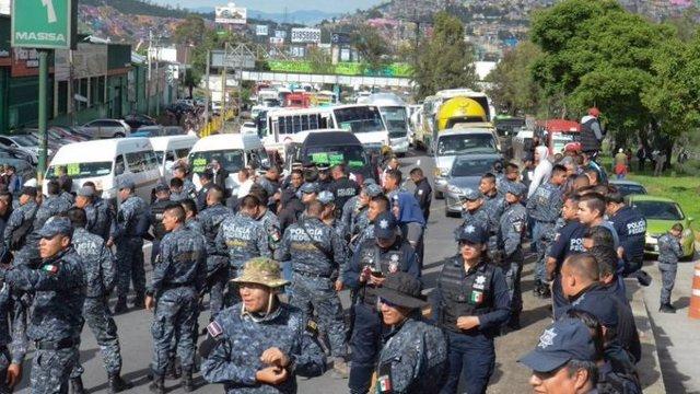 México.- Al menos once muertos en un enfrentamiento entre fuerzas de seguridad y