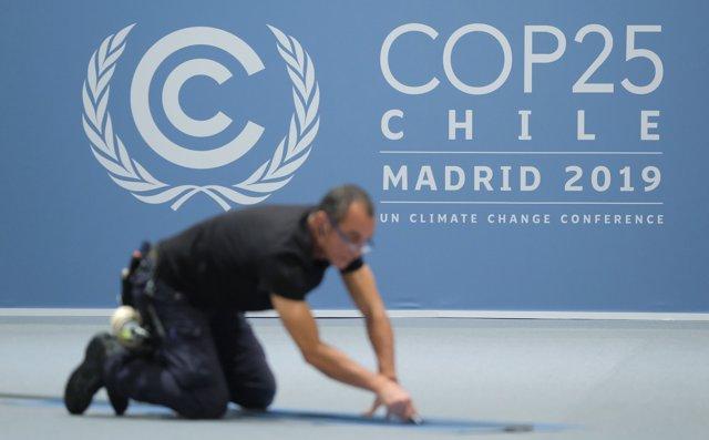 Preparativos para la Cumbre del Clima de Madrid