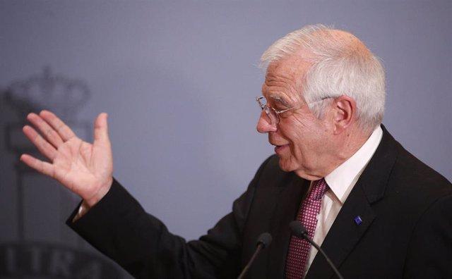 Alto Representante de Política Exterior de la Unión Europea, Josep Borrell