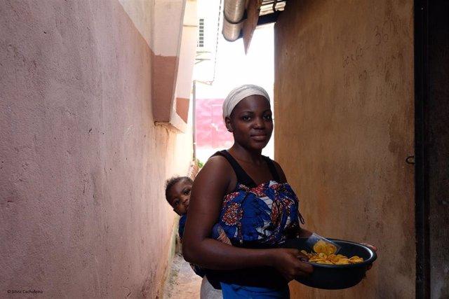 Mujer de Camerún.