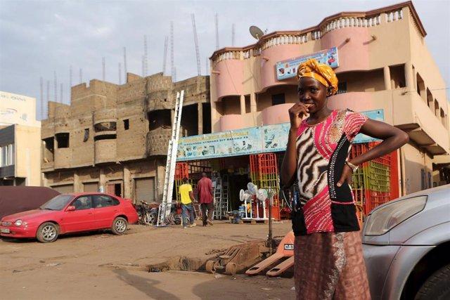 Una niña en Bamako