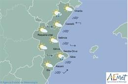 Predicción meteorológica del 1 de diciembre en la Comunitat Valenciana