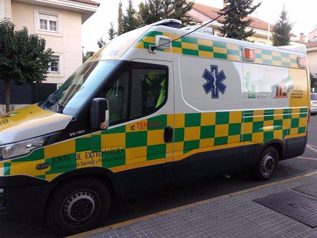 Una ambulancia del SES, en una imagen de archivo