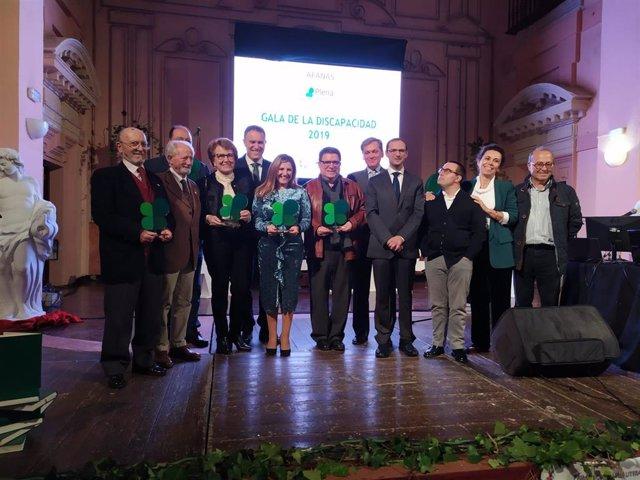 La presidenta de la Diputación de Cádiz, Irene García, recoge este fin de semana el Trébol de Oro de Afanas Sanlúcar de Barrameda, Chipiona, Rota y Trebujena
