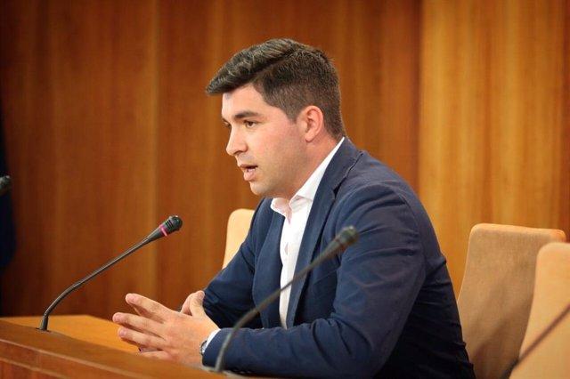 El presidente de la comisió de investigación de la Faffe, Enrique Moreno, este martes