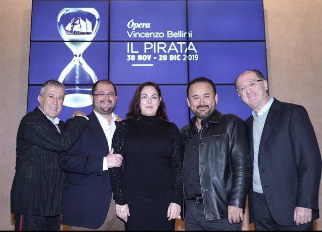 """Javier Camarena se enfrenta a su papel """"más difícil"""" en 'Il pirata', que podrá v"""