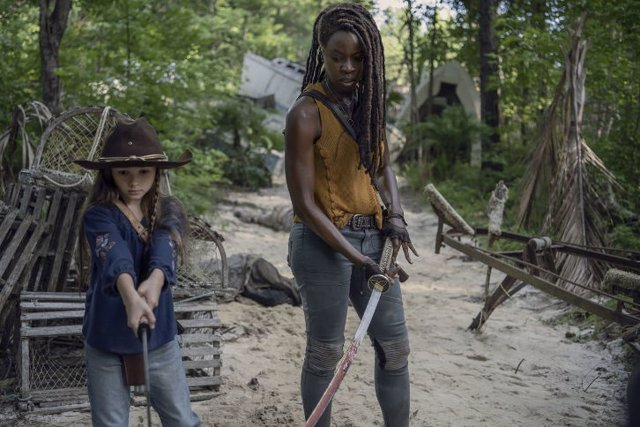Imagen de la 10ª temporada de The Walking Dead