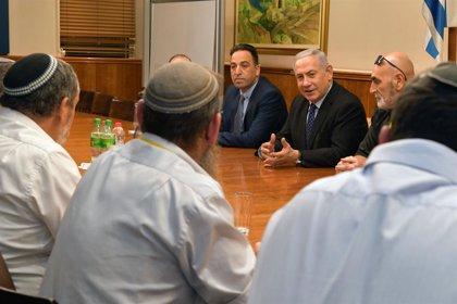 Israel.- Netanyahu promete fondos adicionales para reforzar la seguridad de los asentamientos en Cisjordania