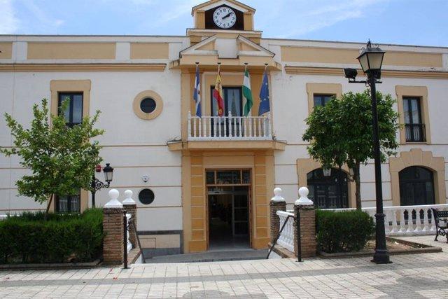 Fachada del Ayuntamiento de El Viso del Alcor