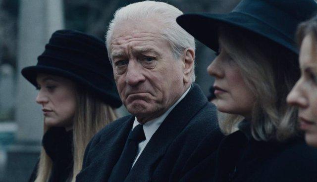 Robert De Niro envejecido en El irlandés, lo nuevo de Martin Scorsese