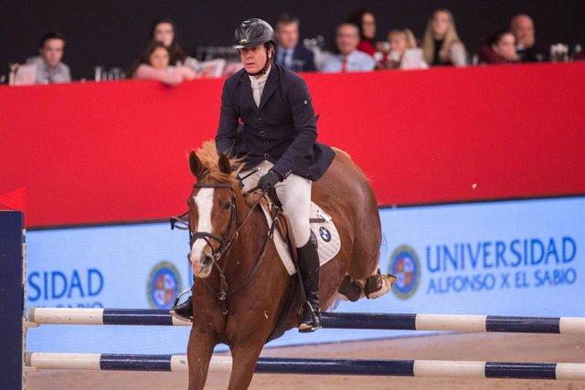 Cayetano Martínez de Irujo en la Madrid Horse Week