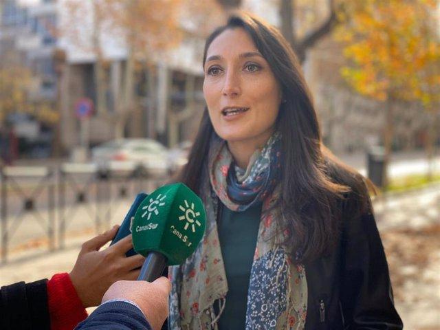 La portavoz adjunta del grupo parlamentario de Ciudadanos (Cs) y diputada por Jaén en el Parlamento de Andalucía, Mónica Moreno