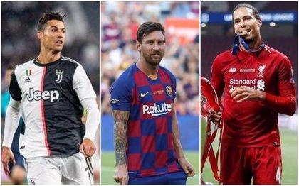 Messi busca su sexto Balón de Oro y superar a Cristiano con permiso de Van Dijk