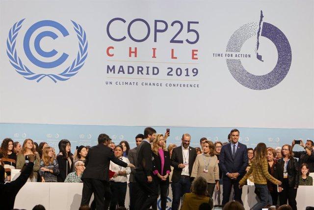 COP25.- Más de 25.000 miembros de 196 países, empresas y ONG impulsarán la acció