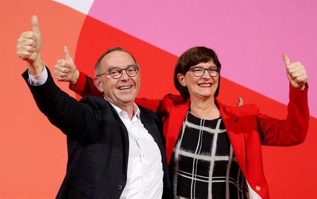 Conferencia SPD en Berlín