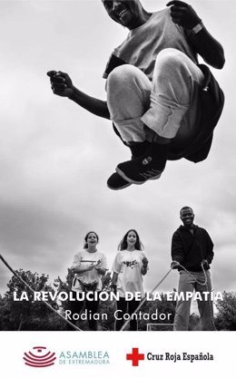 Cartel de la exposición de Rodian Contador en Mérida