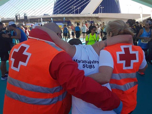 Atención en la Maratón